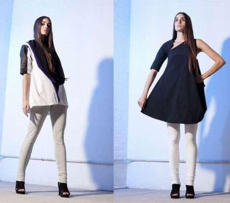 Fierce Fashion Fusion - Convertible Clothing by Karolina Zmarlak is Filled With Hybrid Styles