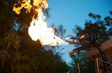 Fire-Breathing Robots