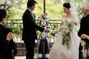 The 'I-Fairy' Robot Marries Satoko Inoue and Tomohiro Shibata