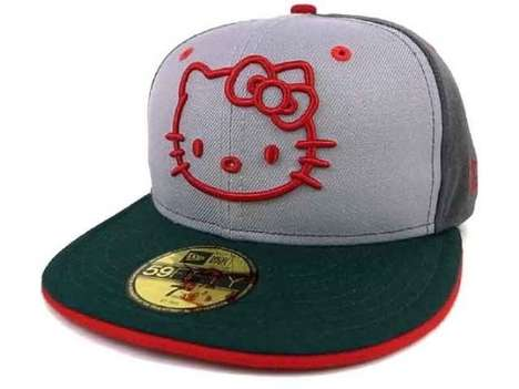 Hello Kitty fitted hat