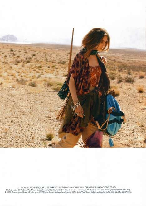 on the road for harper s bazaar uk june 2010