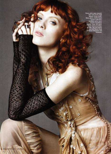 show girl for marie claire us june 2010