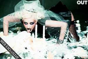 The Christina Aguilera 'Madam X' Out Magazine Editorial is Circus Crazy