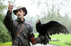 German Police May Use Vultures Instead of Sniffer Dogs