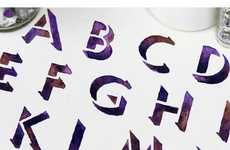 25 Fantastically Fabulous Fonts - From Furniture Letters to Typography Cookies