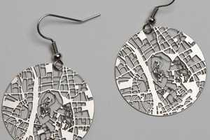 The Fluid Forms Streets Earrings Help You Show City Pride