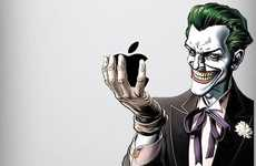 Villain iPad Decals - Make Nerdy Accessories Look Gnarly with Comic Book Stickers