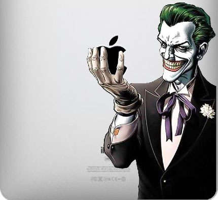 Villain iPad Decals