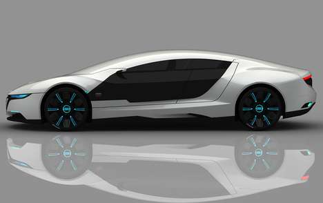 Self-Repairing Hybrids - The Audi A9 Concept Car by Daniel Garcia