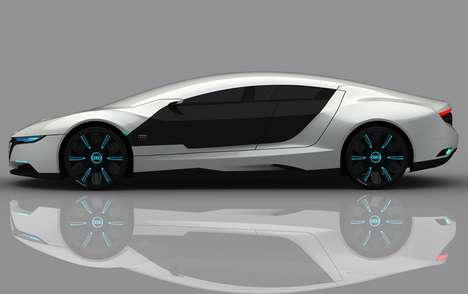 Self-Repairing Hybrids - The Audi A9 Concept Car by Daniel Garcia