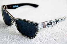 Graffitied Shades - Troy Lee and Oakley Team Up for an Epic Pair of Sunglasses