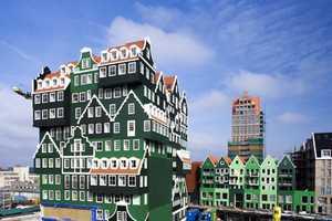 The Wam Architecten Inntel Hotel is Stacked Sophistication