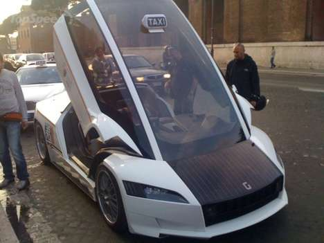 Supercar Taxis - The Giugiaro Quaranta Taxi is an Italian Exclusive