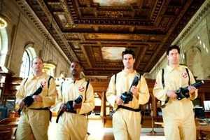 Ghostbuster Improv Takes Over the New York City Public Library