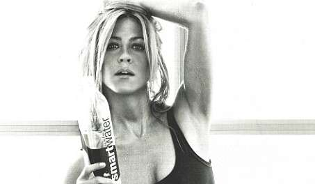 jennifer aniston smart water ad