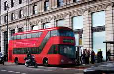 Eco-Tech Double Decks - The London Routemaster Bus Goes Green with a Facelift