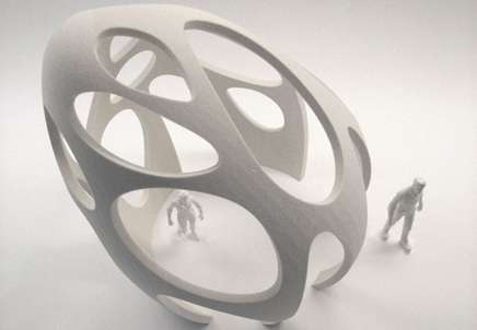 Printable Architecture - The Enrico Dini 3D Printed Building is the First of its Kind