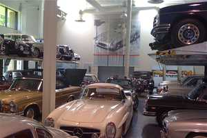 The Mercedes-Benz Classic Center is a Car Lover's Dream