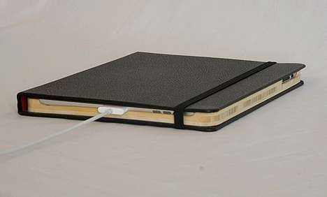Tablet Notebook Disguises - Dodocase Moleskine iPad Case Looks Sophisticated and Tech Savvy