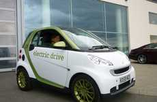 Itty-Bitty Eco Vehicles - The Smart Fortwo 'Electric Drive' Car is a Pint-Sized Plug-In