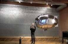 iPad-Controlled Blimps - Breakfast NY Showcases Touchscreen Controller at Design Week