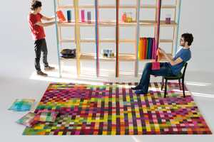 The 'Digit' Pixelated Carpet by Nanimarquina Designs is Interior Design Genius