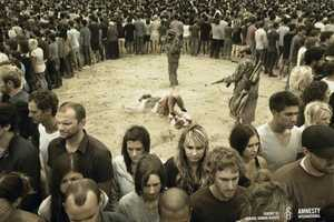 Amnesty International 'Ignore Us' Print Campaign is Provocative