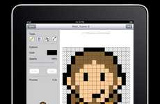 Pixelated Picture Apps - The 'Sprite Something' iPad App Lets You Create Pixelated Images on Purpose
