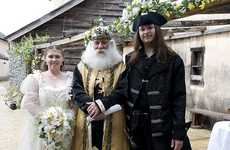 Medieval Weddings - Katie and Scott Say 'I Do' with a Renaissance Flair