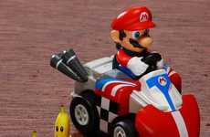 Nostalgic Gamer Racers - The Mario Kart R/C Cars Take the Video out of Gaming Fun