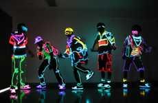 Glow-in-the-Dark Dancers