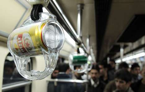 Beer Can Subway Ads