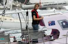Globe-Sailing Teens - 16-Year-Old Jessica Watson Travels the World in Sail Boat