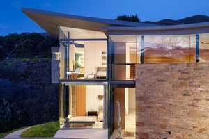 The Otter Cove Residence Displays a Rock Solid Design