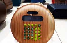 Sustainable Number-Crunchers - The Monacca Wood Calculator is a Sleek Computation Device