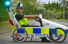 DIY Police Cars - Waller's Pedal-Powered Car Will Take Part in British PedalCar Grand Prix