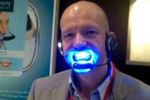 The Beaming White 'Forever White' Teeth-Whitening Headset