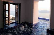 In-Room Luxury Pools - The Ikies Resort in Santorini, Greece is so Luxurious it Hurts