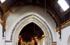 Upcycled God Homes - The St. Nicholas Church House is a Remodelled House of the Holy