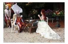 Alien Tea Party Weddings - Aimee and Trey Say 'I do' in a Very Unconventional Manner