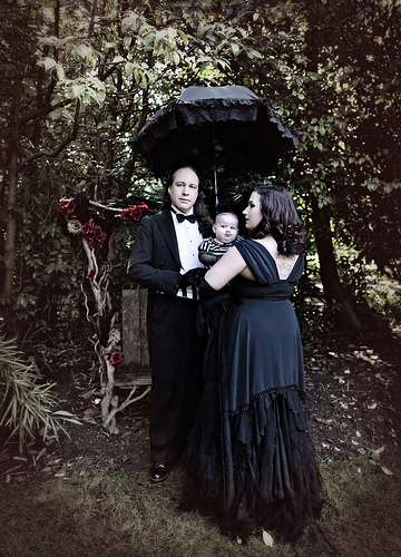 Goth Family Portraits