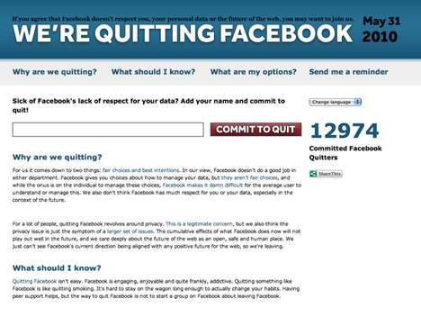 facebook, privacy, social media, quit facebook
