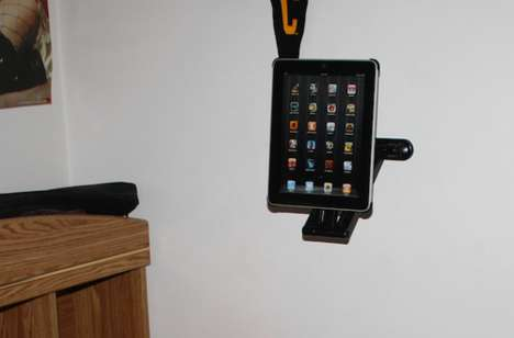 DIY iPad mount