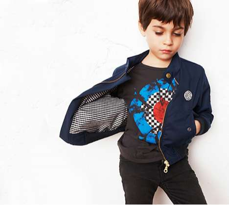 Hipster Children's Fashions - 'Finger in the Nose' Clothing Makes Kids More Stylish than Grown-Ups