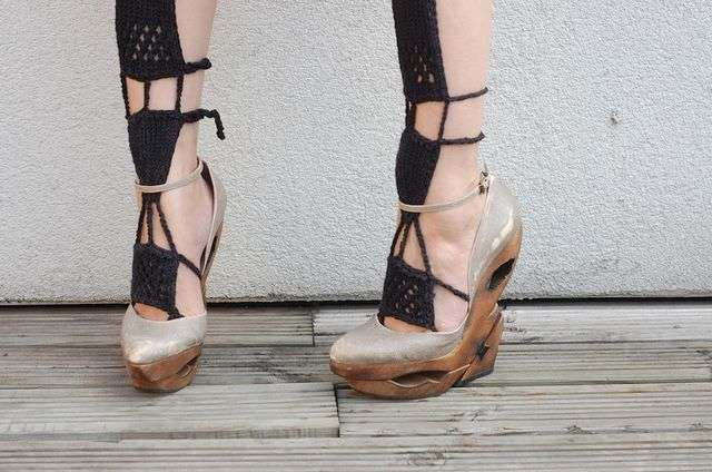 Cutout Wooden Wedges
