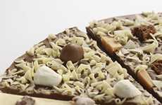 Chocolate Pizza - Prezzybox Reinvents the Pie With Belgian Chocolate