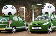 Soccerific Sedans - Hyundai Football-Themed Cars Are Ready for the FIFA 2010 World Cup