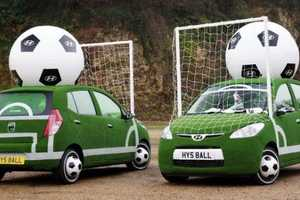 Hyundai Football-Themed Cars Are Ready for the FIFA 2010 World Cup