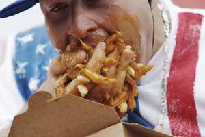 World Poutine Eating Championship Rewards Pigging Out