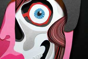 The Lobulo Designs Paper Cutout Illustrations are Freaky Fun